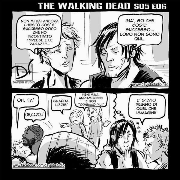 The Walking Dead 5x06 (Dayjob Studio)