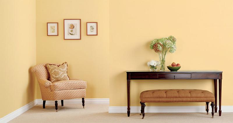 Cómo Decorar las Habitaciones de color Amarillo : Decorar Decoración