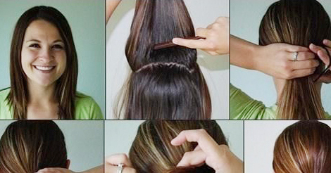 Best Easy To Do Hairstyles For Medium Hair Pictures Styles Ideas