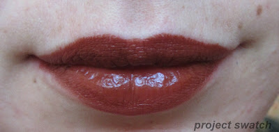 WnW Mink Brown lip swatch