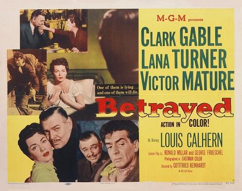 """Betrayed"" (1954)"