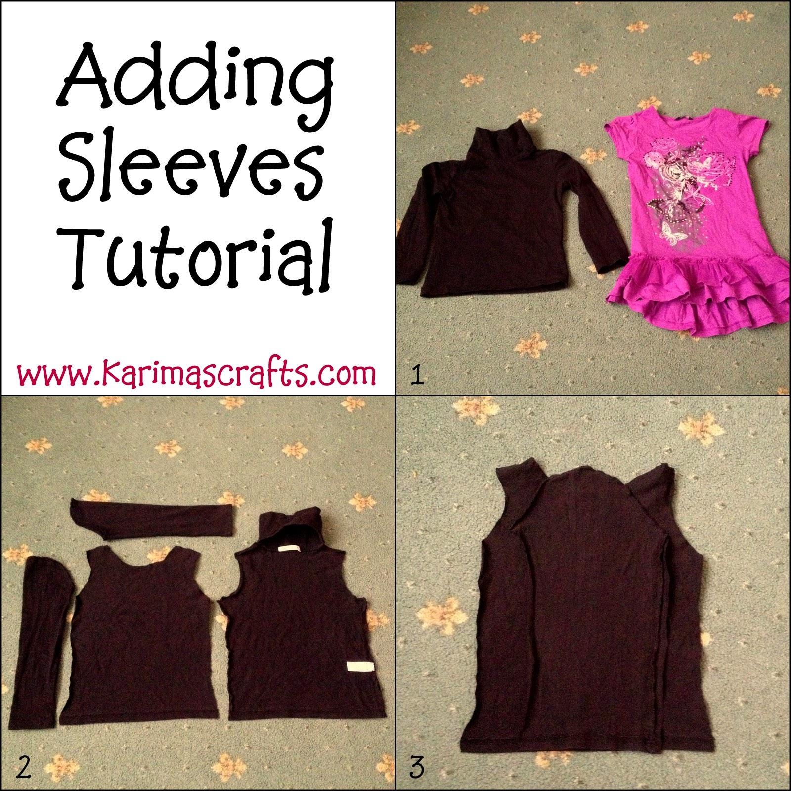 adding sleeves sewing tutorial modest islamic clothes muslim blog