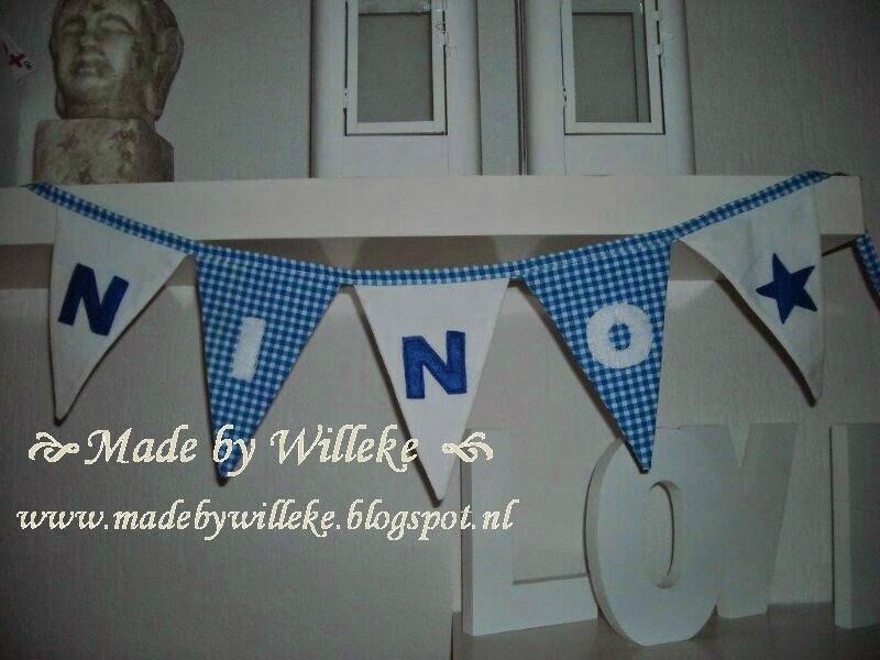 Made By Willeke Slinger Van Stoffen Vlaggetjes Leuk Voor