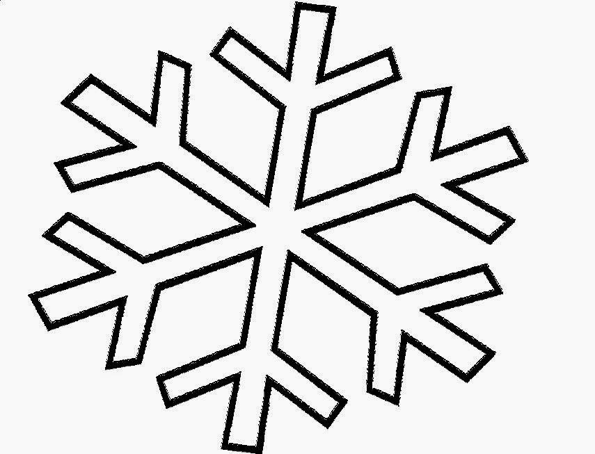 Snowflake Coloring Sheets