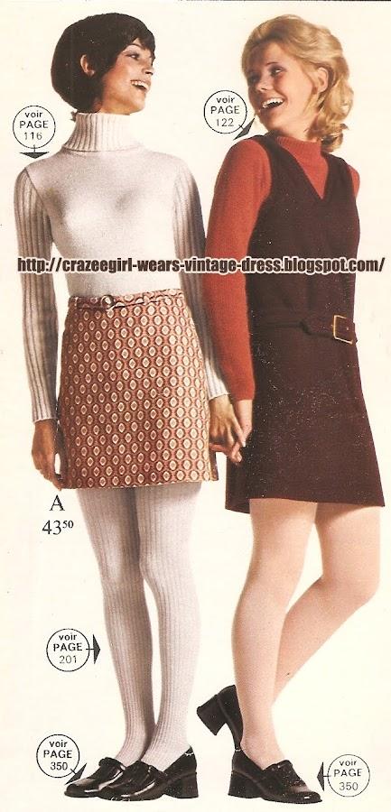 La Redoute dress - 1970 70s