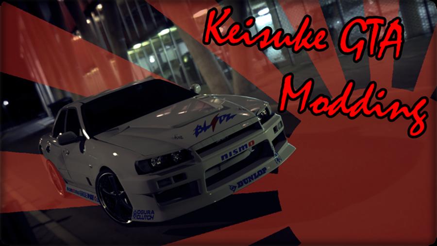 KEISUKE GTA MODDING