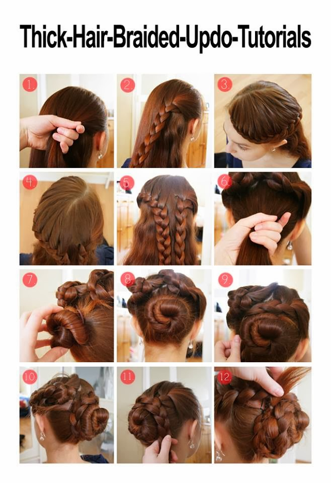 Girl Hairstyle 2017: 7 Pretty Easy Hairstyles For Thick Hair ...