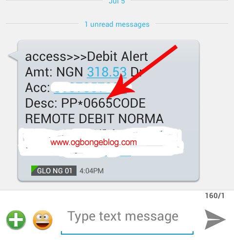 access bank paypal alert