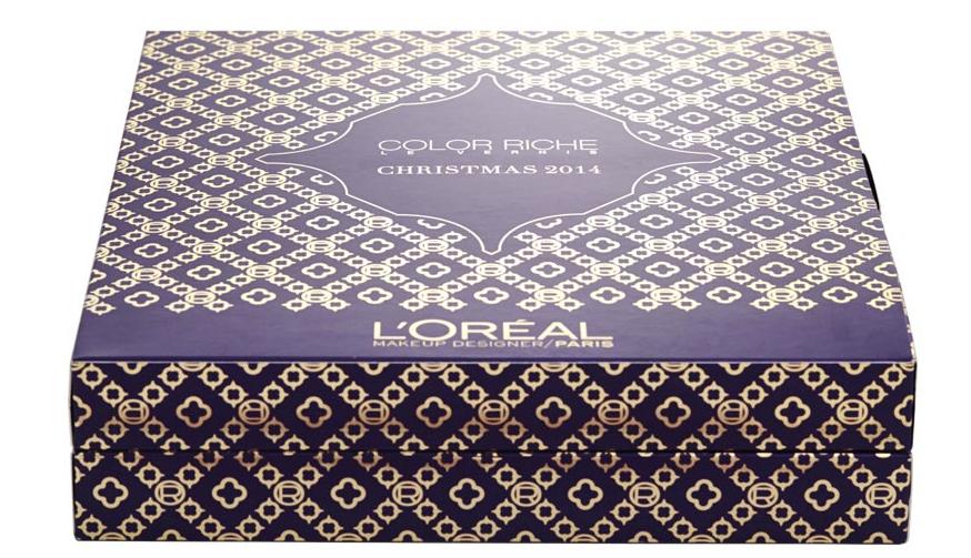 Coffret l'Oréal maquillage calendrier de l'avent