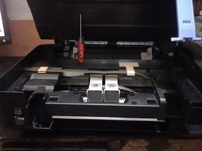 Как установить шлейфы СНПЧ на принтерах Canon MP230