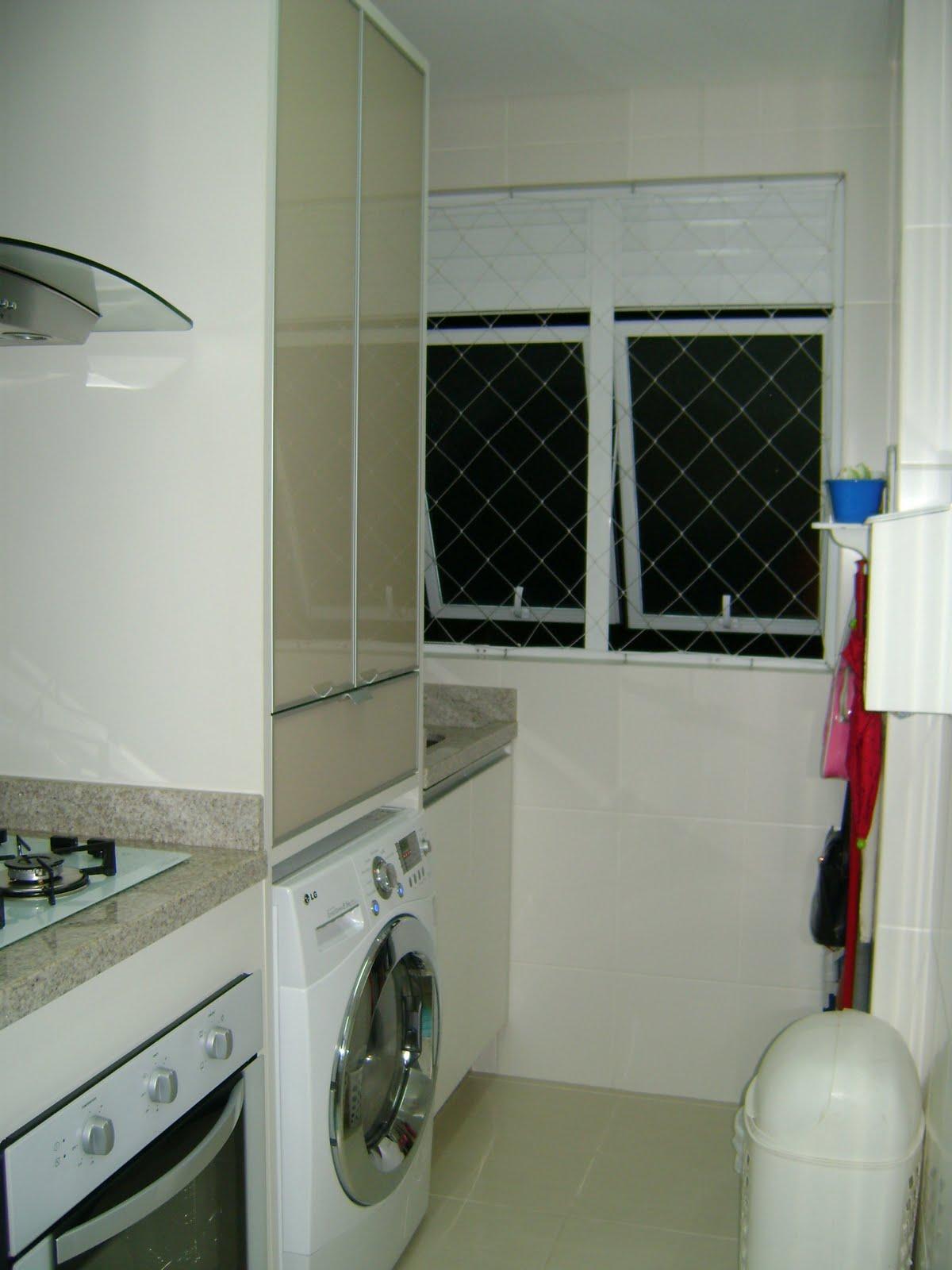 Cozinha Com Lavanderia E Imagens Reproduo Suite Quarto Banheiro