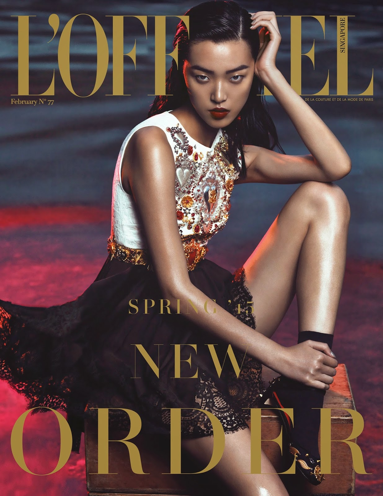 Model: Tian Yi You by Yin Chao for L'Officiel, Singapore