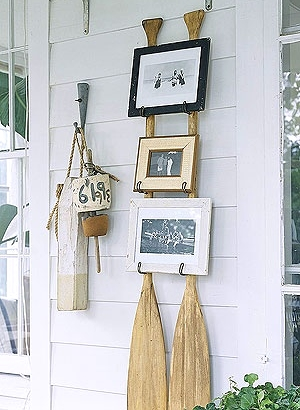 Top outdoor summer beach decor ideas for porch patio and for Coastal wall decor ideas