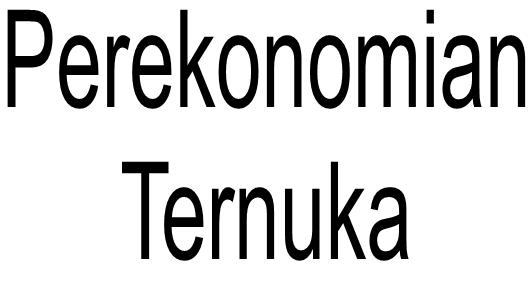 Rangkuman Perekonomian Terbuka