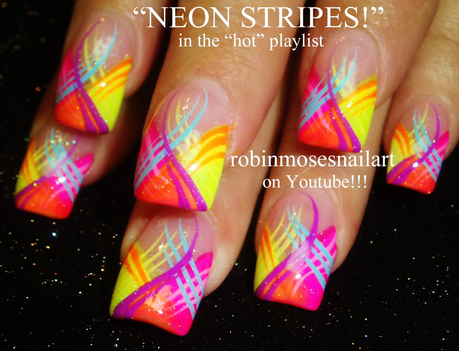 ... NEON NACHO Nail Art Gallery orange Nail Art Photos - bright orange nail  designs ... - Bright Orange Nail Designs