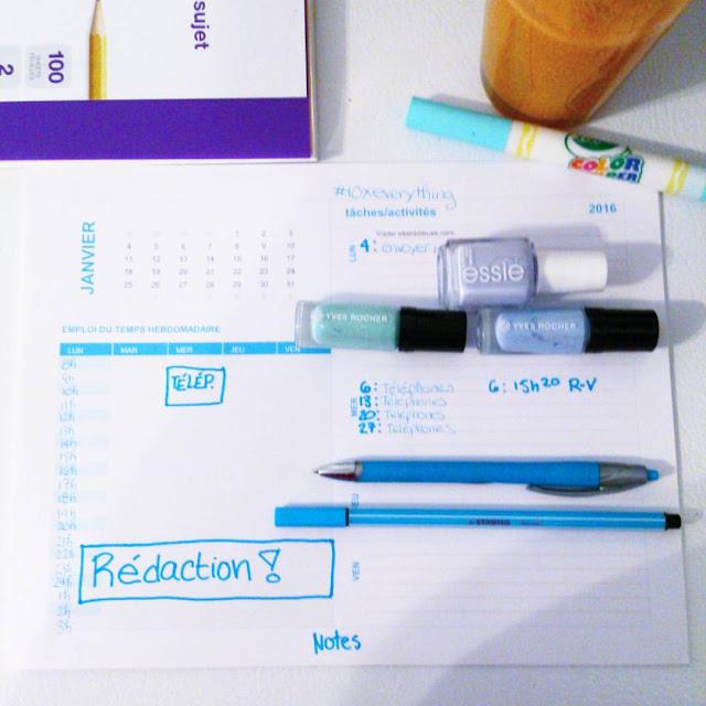 5 astuces pour planifier ses actions productives dans sa vie pour 2016