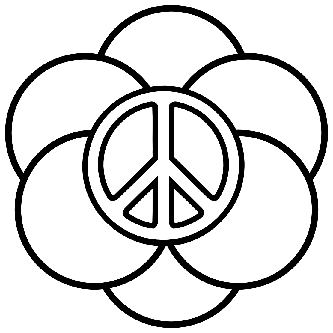 Just to eliminate any preconceived notions regarding the origin of just to eliminate any preconceived notions regarding the origin of the peace sign in 1958 british artist gerald holtom drew a circle with three biocorpaavc Choice Image