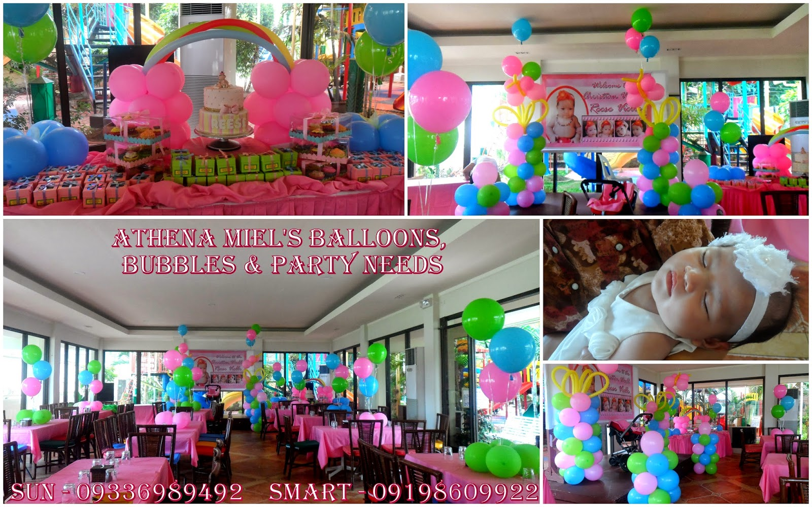 Christening Baptismal Dedication And Baby Shower Packages Athena