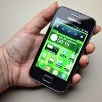 Galaxy Ace, smartphone Android lançado em 2011 pela Samsung