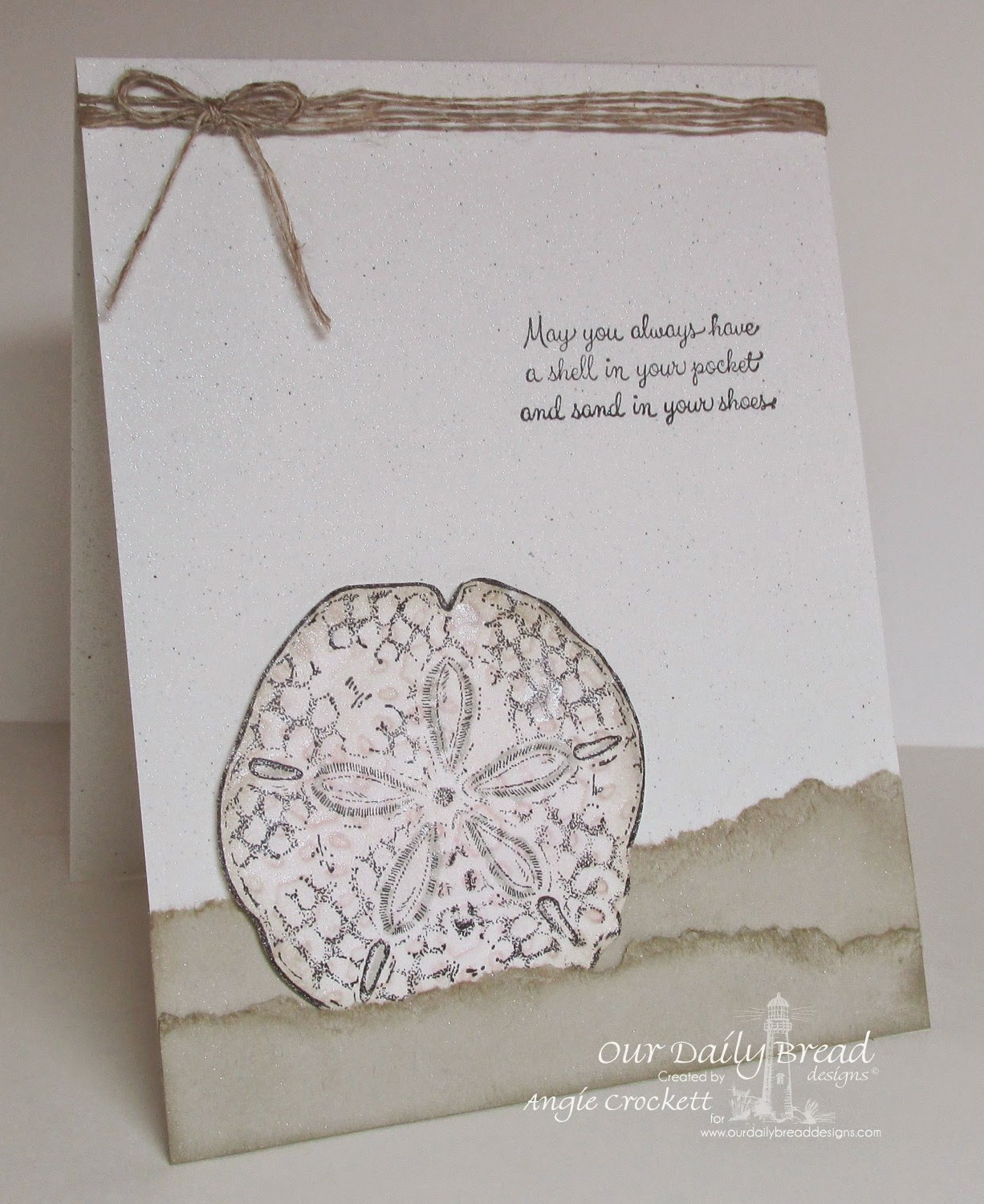 ODBD Ocean Treasures, Card Designer Angie Crockett