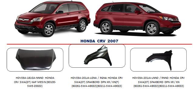 Bodypart Honda CRV 2007