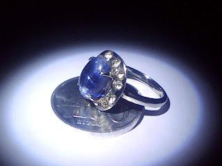 Batu Cincin Blue Sapphire Australia
