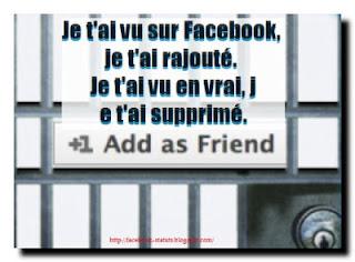 statut facebook rigolo