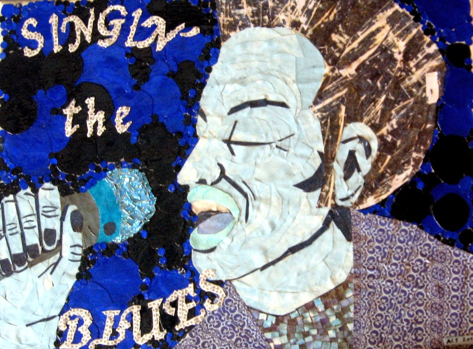 Singin' The Blues collage