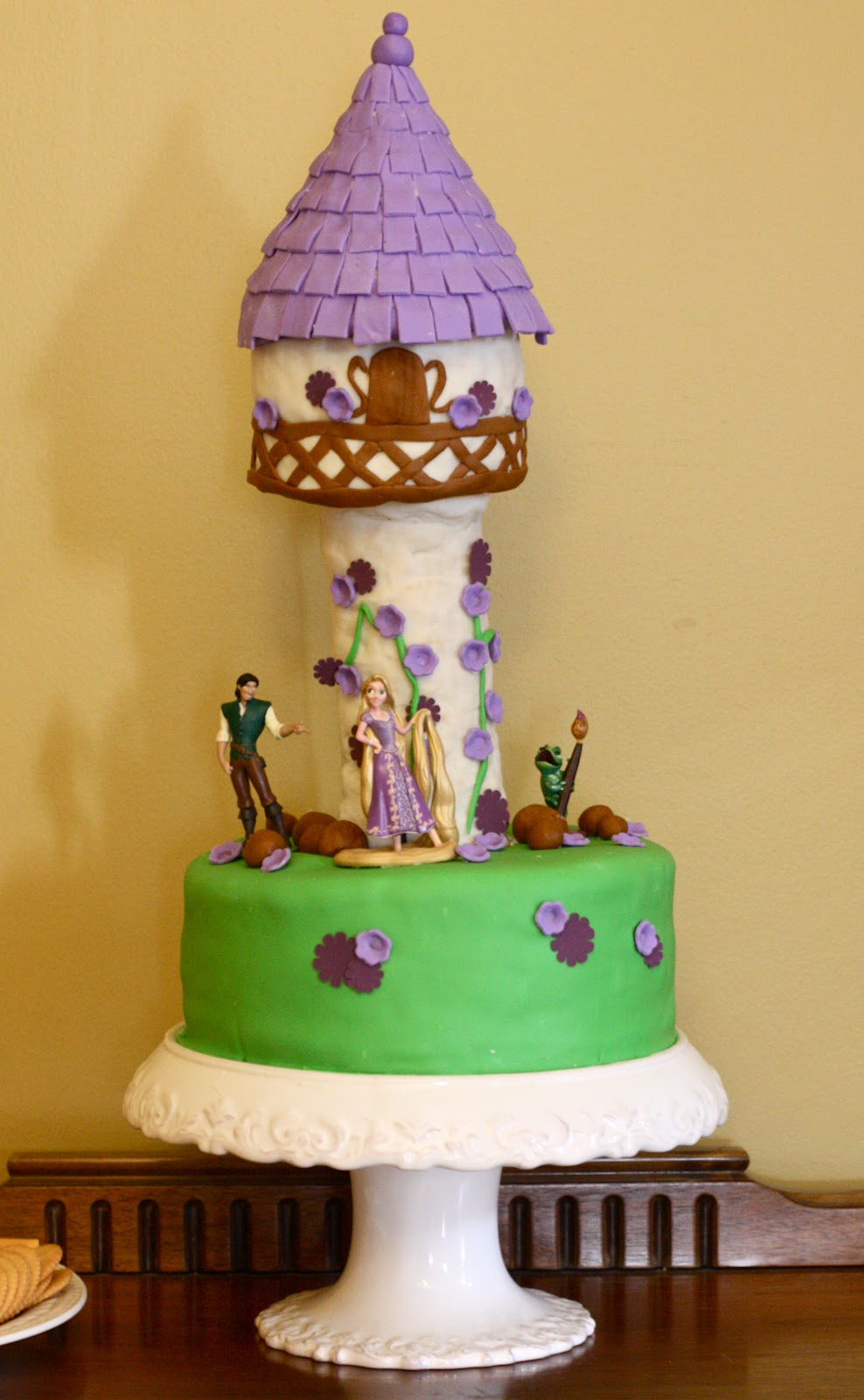 This was one of the hardest cakes Ive ever done. I ran out of time ...