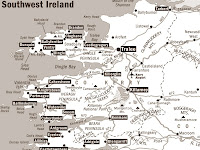 Southwest Ireland Map Pictures