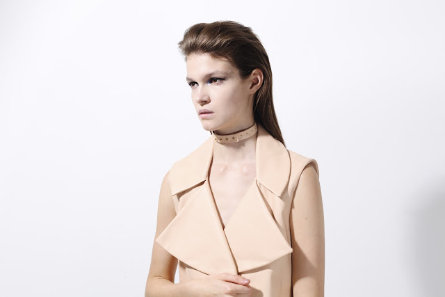 Vest, light pink
