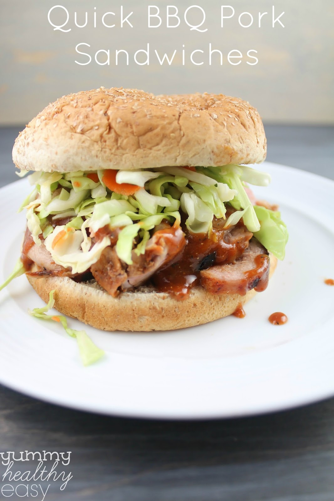 and delicious BBQ Pork Sandwiches your family will love! This BBQ pork ...