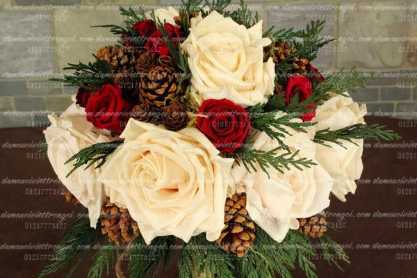 tổ chức đám cưới giáng sinh