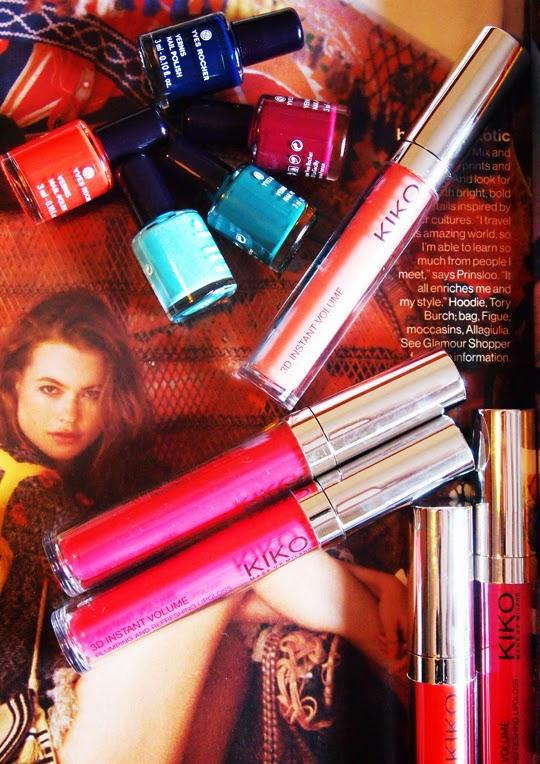 LipGloss Kiko y Lacas de uñas Yves Rocher