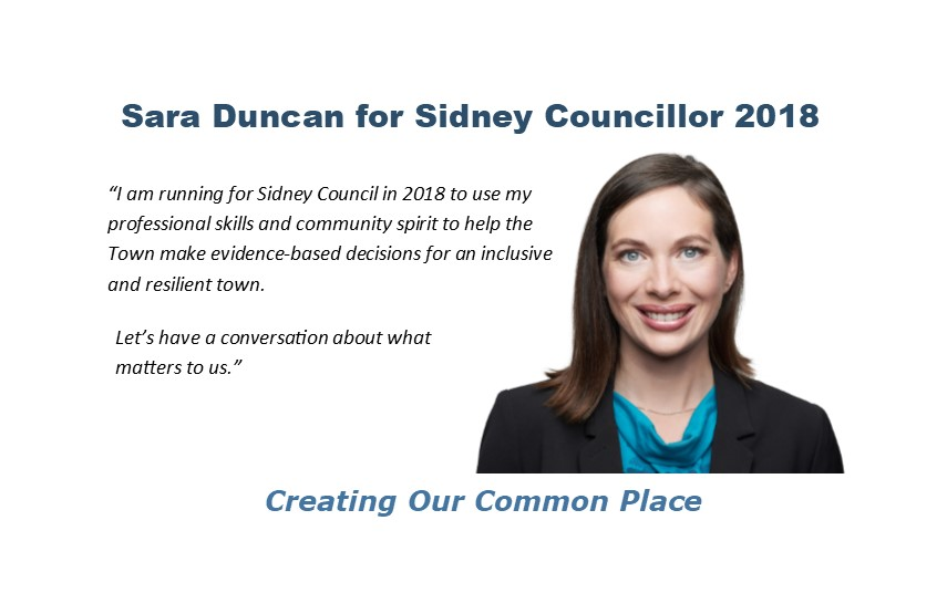Sara Duncan for Sidney Council