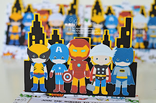 handmade avengers_invitations, superhero_invitations