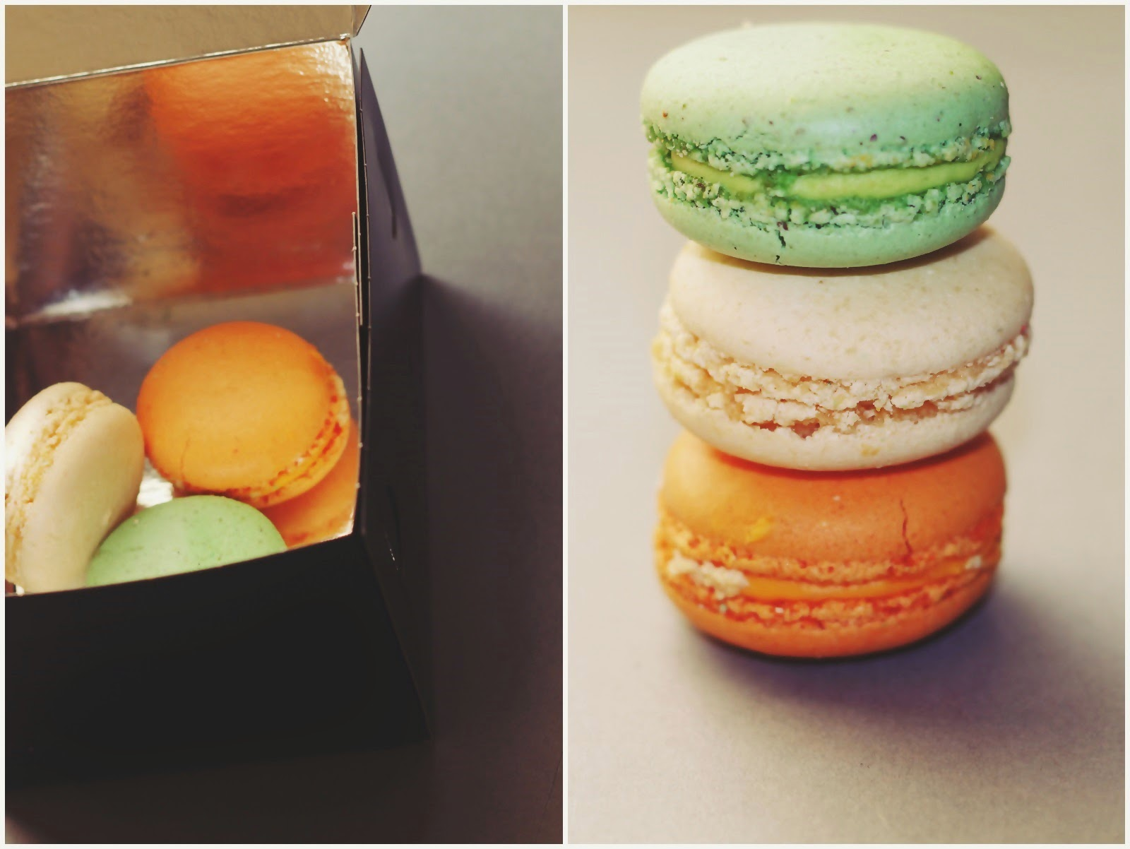 delicious french macarons