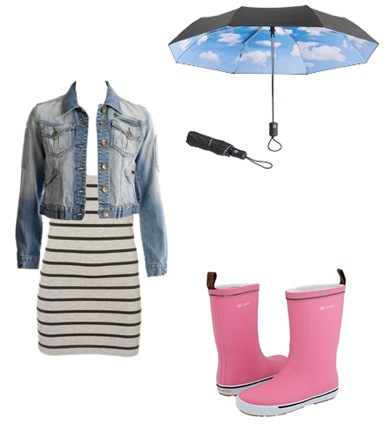What to Wear on a Rainy Day. Well, we got a little rain today , I thought I  would post about how to look cute while it\u0027s raining.