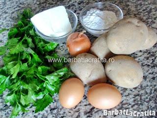 Chiftele de cartofi ingrediente reteta