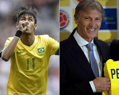 Neymar y Pékerman, lo mejor de América en el 2012