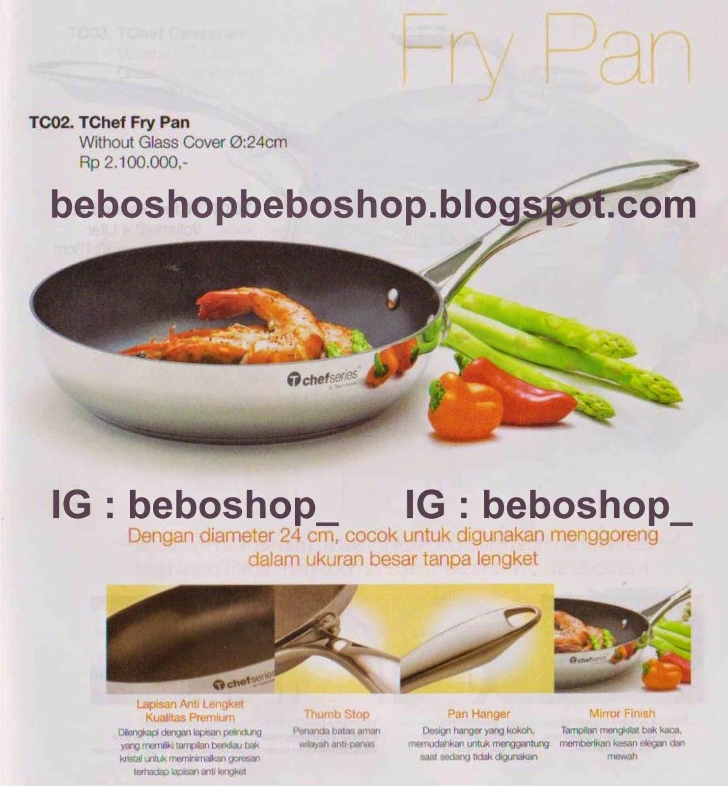 Beboshop Tupperware Edisi Mei 2014 Tchef Fry Pan Idr 2100000