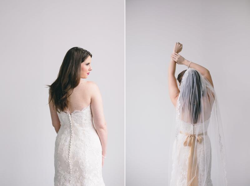 natural light bridal portraits in atlanta
