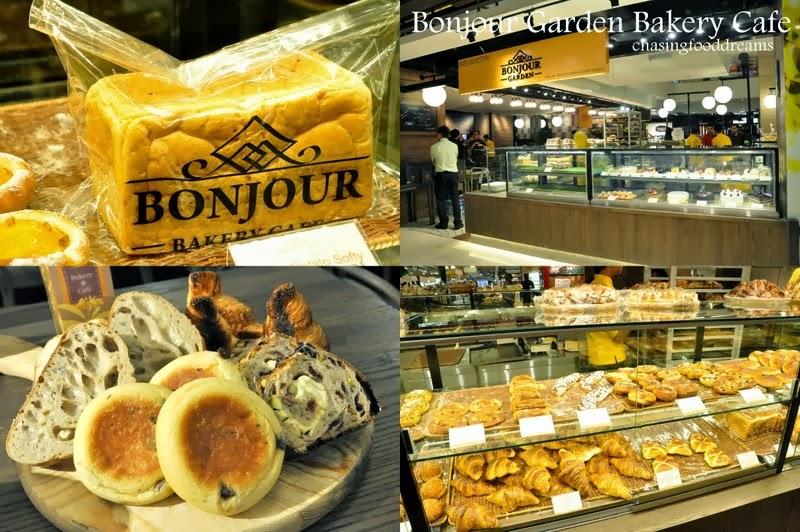 Bonjour Cafe Intermark Menu