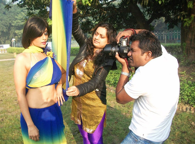 Aisha sagar Photo shoot in Kolkata