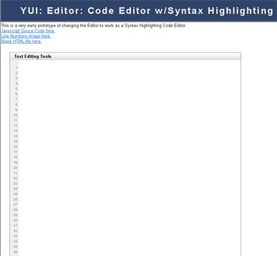 YUI-Editor-Code-Editor