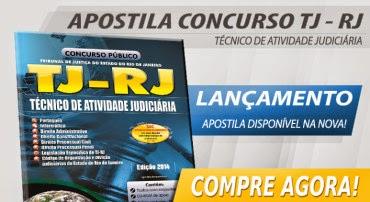 Apostila Concurso TJ RJ 2014 – Técnico de Atividade Judiciária