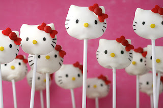 cake pops hello kitty