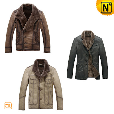 Mens Shearling Jackets