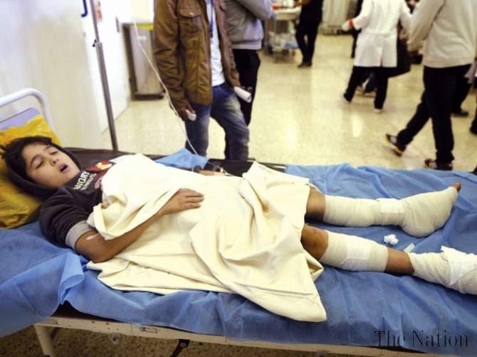 Playground bomb wounds 12 children in Libya's Benghazi
