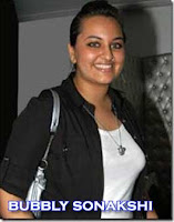 Sonakshi Sinha Fat Photos of earlier days in black jacket and white top
